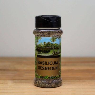 Basilicum gesneden