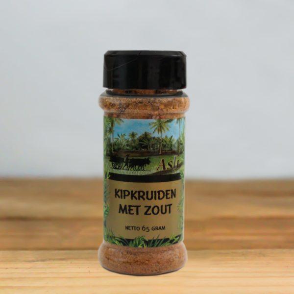 Kipkruiden met zout